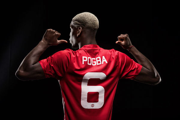 بوغبا اختار حمل القميص رقم 6