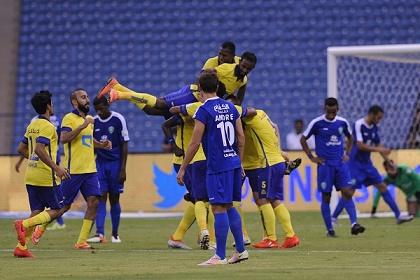النصر يسحق الفتح والفيصلي يهزم الخليج في الدوري السعودي