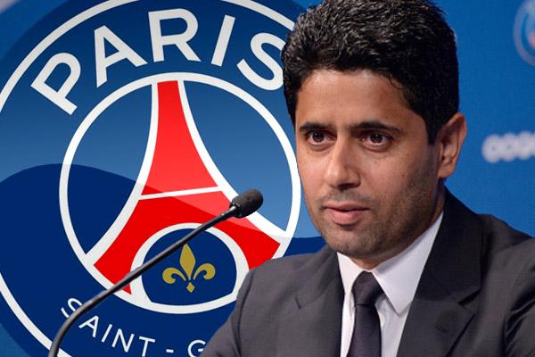 القطري ناصر الخليفي رئيس نادي باريس سان جرمان الفرنسي