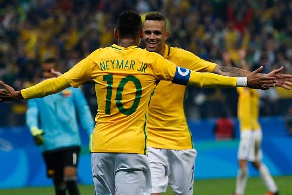 نيمار قاد البرازيل للفوز على كولومبيا