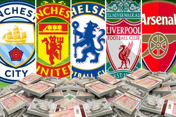 القيمة الإجمالية لأندية البريميرليغ بلغت ثلاثة مليارات و 100 مليون جنيه إسترليني