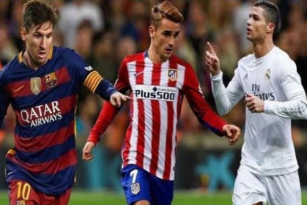 الثلاثة الكبار في صراع جديد على لقب الدوري الإسباني
