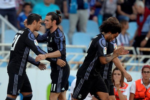 ريال مدريد يستهل مشواره بالفوز على سوسيداد