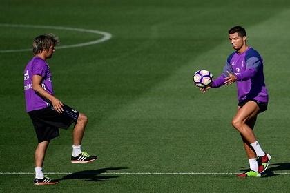 رونالدو يعاود تدريباته مع ريال مدريد