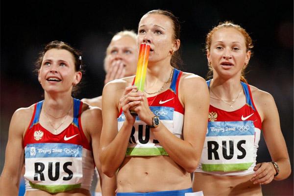 أعلنت اللجنة الاولمبية الدولية عن تجريد العداءة يوليا شيرموشانسكايا من الذهبية التي احرزتها في اولمبياد بكين 2008