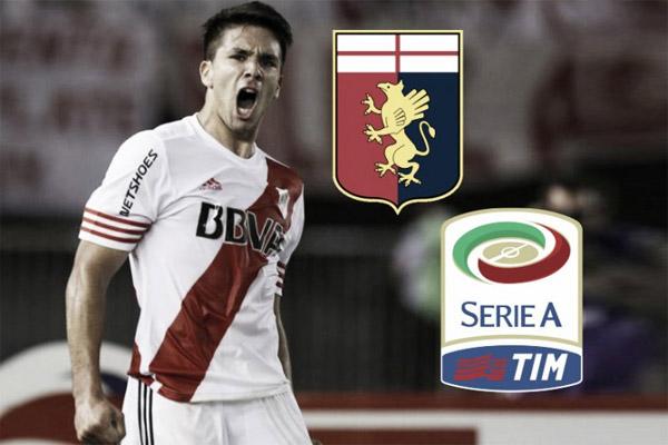 أكد نادي جنوى الإيطالي ضم المهاجم الأرجنتيني جيوفاني سيميوني