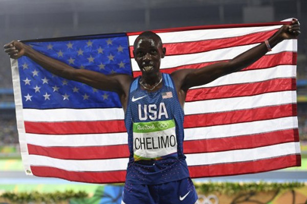اقصي العداء الاميركي بول كيمبوي تشيليمو من الدور النهائي لسباق 5 الاف م