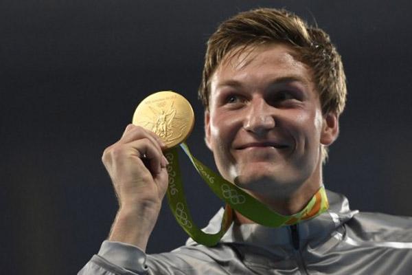 احرز الالماني توماس روهلر السبت ذهبية مسابقة رمي الرمح