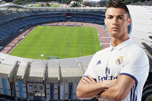 رونالدو لعب مع ريال مدريد آخر مباراة على هذا الملعب