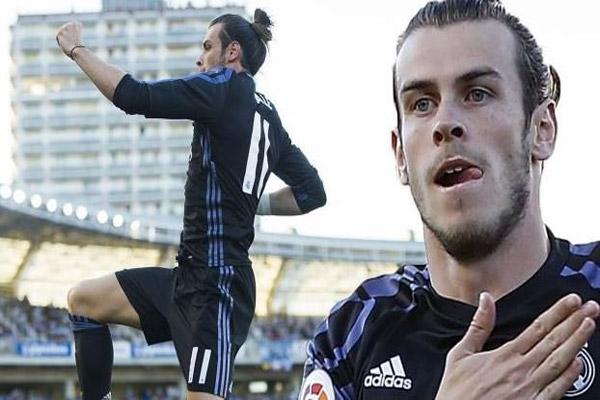 سجل المهاجم الويلزي غاريث بيل ثالث أسرع هدف في تاريخ ريال مدريد