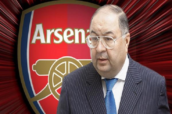 عثمانوف يعتزم بيع اسهمه في آرسنال للاستثمار في ايفرتون
