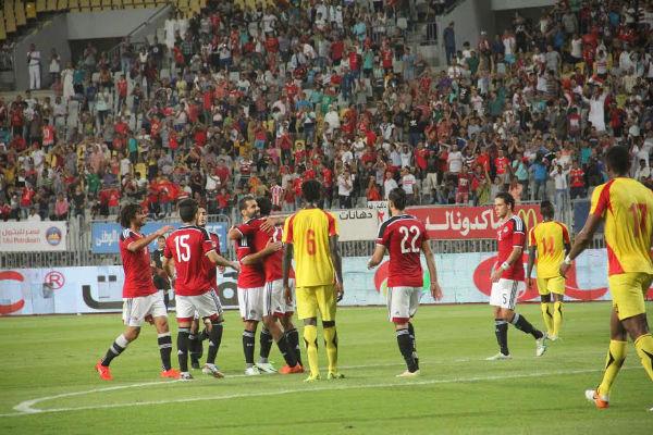 تعادل مصر وغينيا ودياً