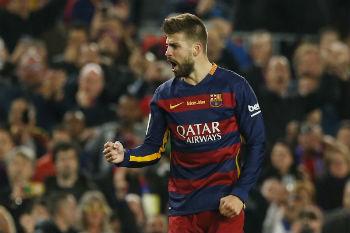 بيكيه يستهزئ بمشوار ريال مدريد في دوري أبطال أوروبا