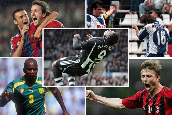 ستة لاعبين نجحوا في تسجيل هدف في الدوريات الأوروبية الأربعة الكبرى