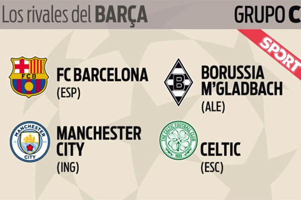 برشلونة وقع مع منافسين أقوياء أبرزهم مانشستر سيتي الإنكليزي