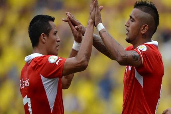 سانشيز وفيدال لقيادة تشيلي في تصفيات كأس العالم