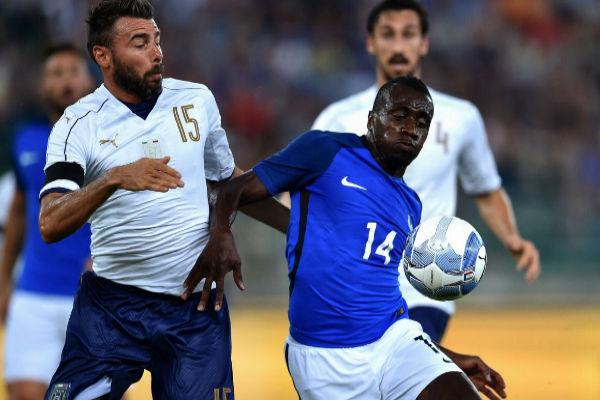 من مباراة فرنسا وإيطاليا