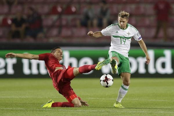 تعادل تشيكيا وإيرلندا الشمالية في تصفيات مونديال 2018