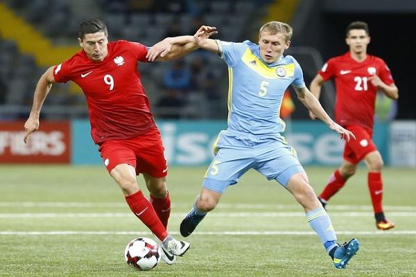 تعادل كازخستان وبولندا في تصفيات مونديال 2018