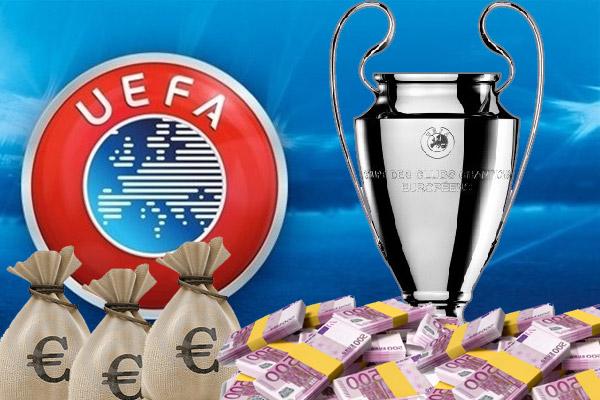 الإتحاد الأوروبي قام بتعديل معاييره الخاصة بتوزيع عائدات دوري أبطال أوروبا على الأندية التي تشارك في المسابقة