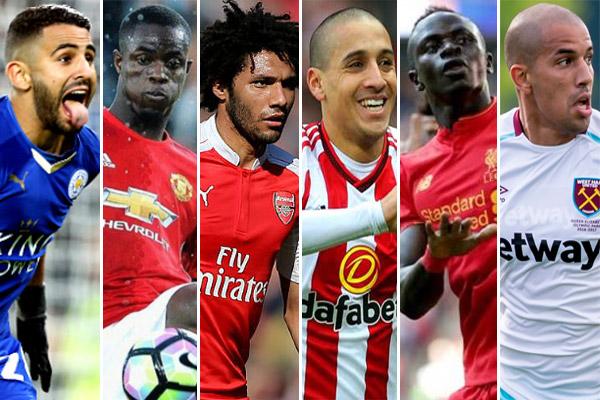 33 لاعبًا سيغيبون عن مباريات أنديتهم في الدوري الإنكليزي الممتاز خلال نهائيات بطولة كأس أمم أفريقيا القادمة