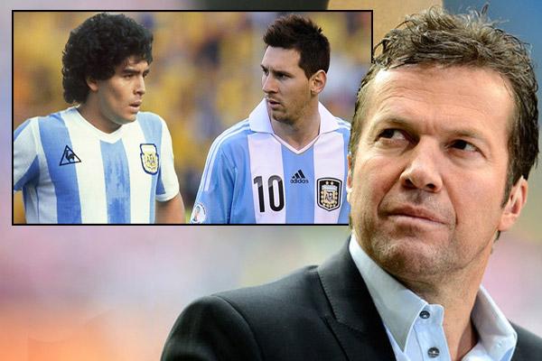 ماتيوس يؤكد بان ميسي الآن هو ما كان عليه مارادونا قبل 30 عاماً