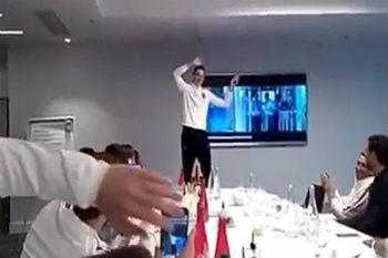 دراكسلر يردد أغنية الشاب خالد أمام زملائه في سان جيرمان