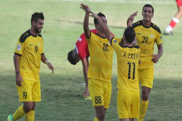 العهد يتخطى شباب الخليل في بطولة الأندية العربية