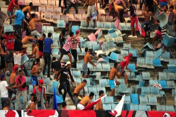 إصابات في شغب رافق ودية سان جرمان والافريقي التونسي