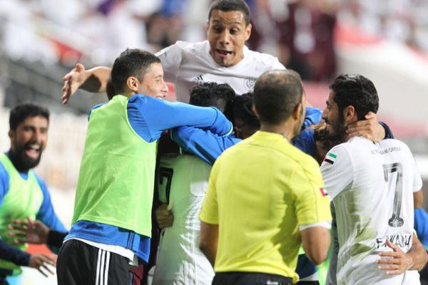 النصر يُقصي العين ويبلغ مع حتا نصف نهائي كأس الإمارات