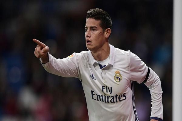 خاميس رودريغيز يضع حداً لشائعات رحيله عن ريال مدريد