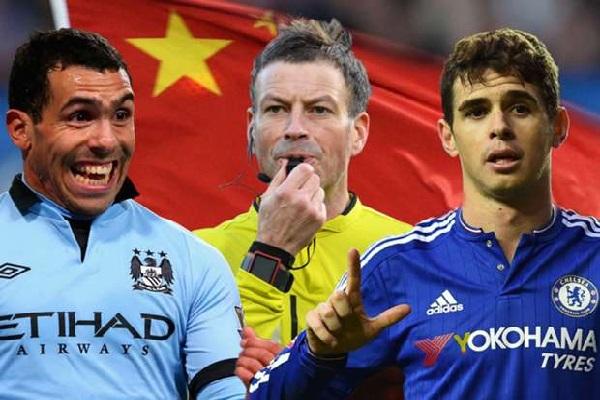 الدوري الصيني نجح في خطف البرازيلي أوسكار والأرجنتيني تيفيز