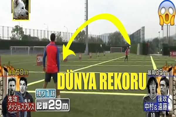 تحدى جديد بين ميسي وسواريز عبر التلفزيون الياباني