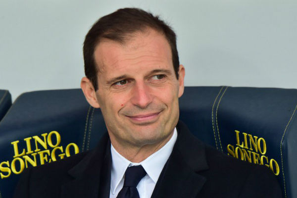 مدرب يوفنتوس الإيطالي ماسيمليانو أليغري