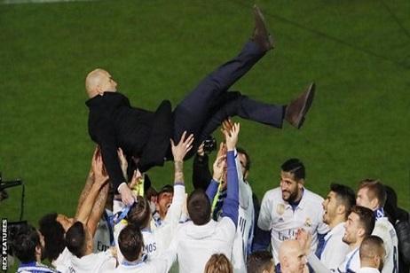 ريال مدريد: زيزو يهدف للثلاثية