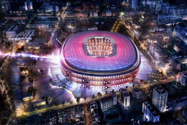 نادي برشلونة يؤكد تأجيل مشروع تجديد