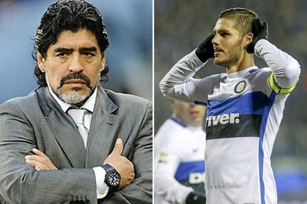 مارادونا يهاجم إيكاردي