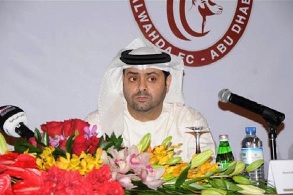 أحمد الرميثي، رئيس شركة كرة القدم في نادي الوحدة، شكك في التحكيم بشكل مباشر