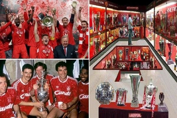 ليفربول لا يزال يتصدر ترتيب الأندية الأكثر تتويجا في إنكلترا رغم تراجعه كثيراً منذ بداية التسعينات من القرن المنصرم