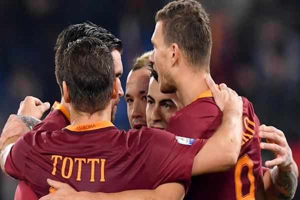 روما يكمل عقد نصف نهائي كأس إيطاليا