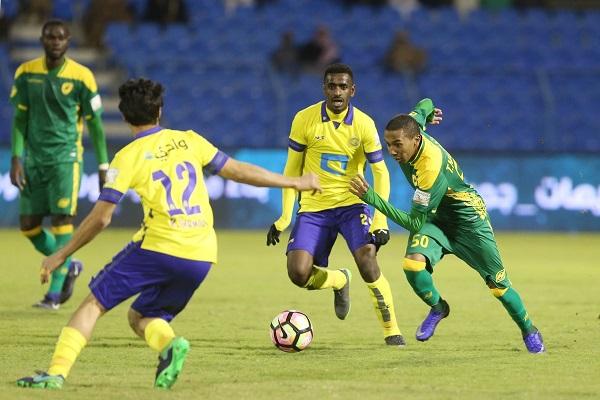النصر يحقق فوزا سهلا على الخليج في الدوري السعودي