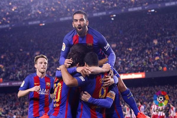برشلونة يعاني لبلوغ نهائي كأس إسبانيا