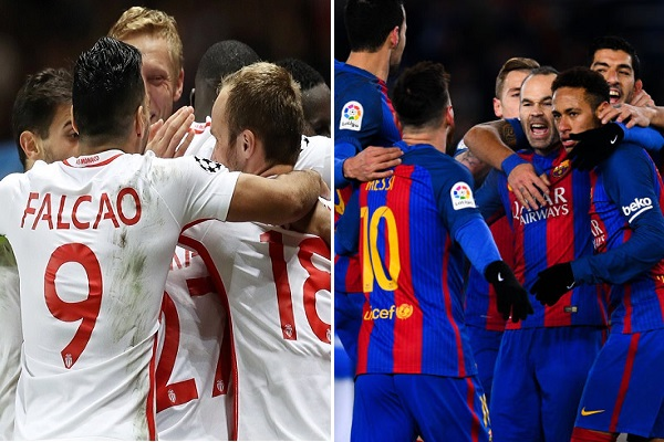 نجح نادي برشلونة الإسباني و موناكو الفرنسي في بلوغ سقف الـ 100 هدف خلال الموسم الحالي