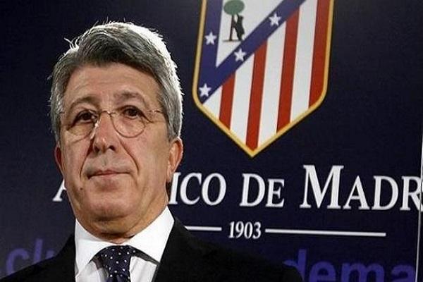 إنريكي سيريزو، رئيس نادي أتليتكو مدريد الإسباني