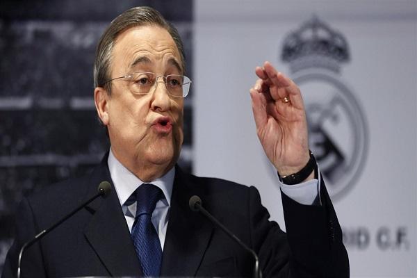 فلورنتيو بيريز رئيس نادي ريال مدريد الإسباني