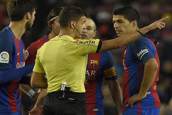 سواريز يغيب عن نهائي كأس إسبانيا