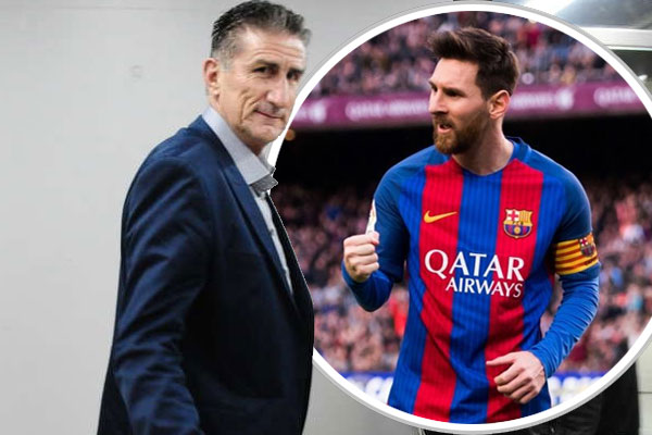 اوضح مدرب منتخب الارجنتين لكرة القدم ادغاردو باوتسا ان نجم الفريق ليونيل ميسي سعيد في برشلونة
