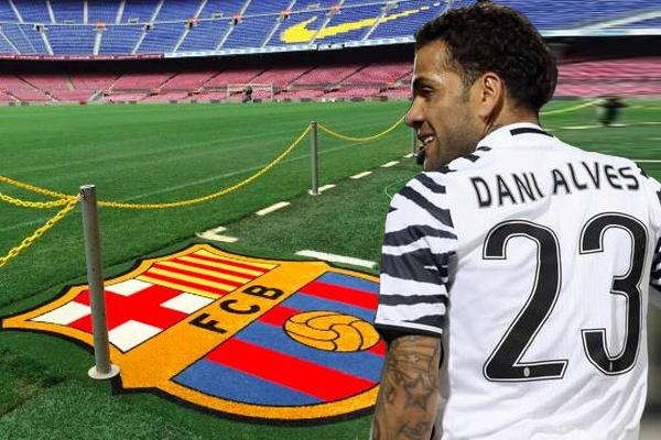 مسيري نادي برشلونة قد أصيبوا بالذهول بسبب التصريحات الأخيرة للاعب الدولي البرازيلي داني ألفيس