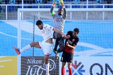 خسارة الأهلي الإماراتي أمام لوكوموتيف بدوري أبطال آسيا