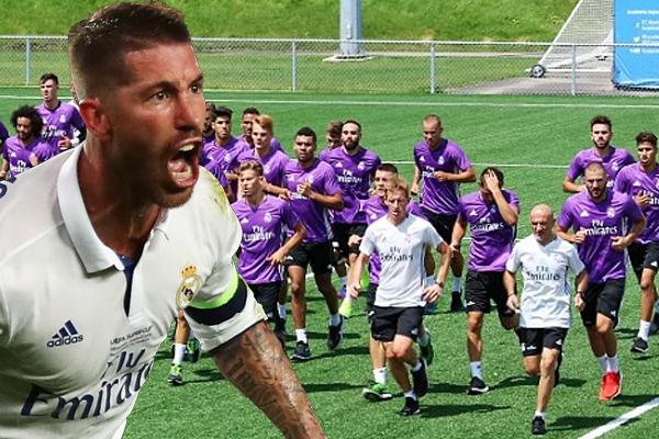 طالب سيرجيو راموس قائد فريق ريال مدريد زملائه في النادي الملكي بضرورة بذل مجهودات أكثر
